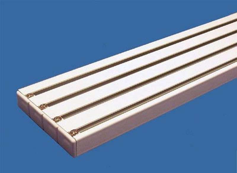 Flächenvorhangschiene Gardinenschiene  3 lauf oder 4lauf