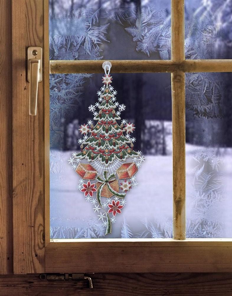 gardinenwelt online shop  weihnachtsfensterbild xxl