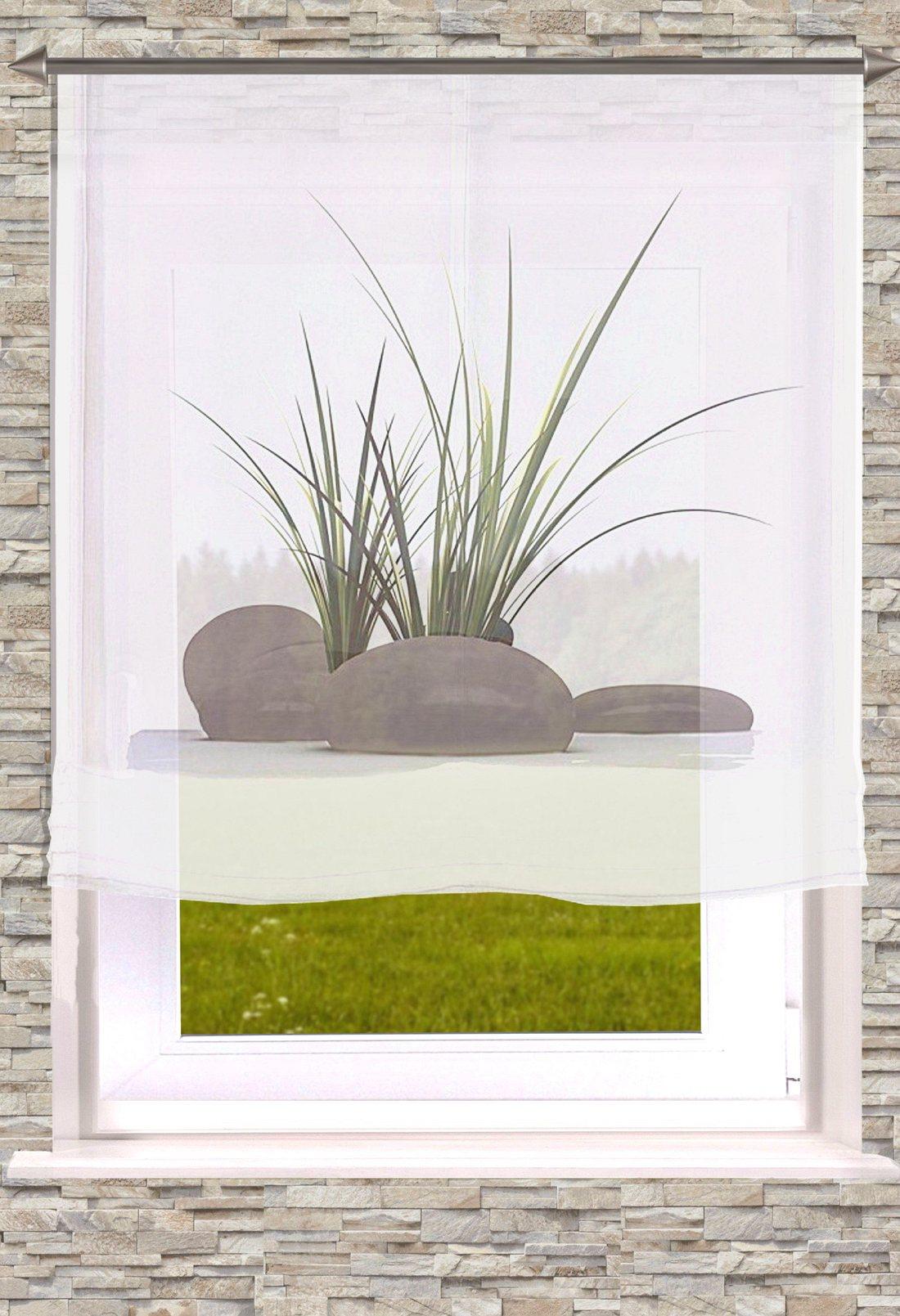 gardinen welt online shop raffrollo digitaldruck stein. Black Bedroom Furniture Sets. Home Design Ideas