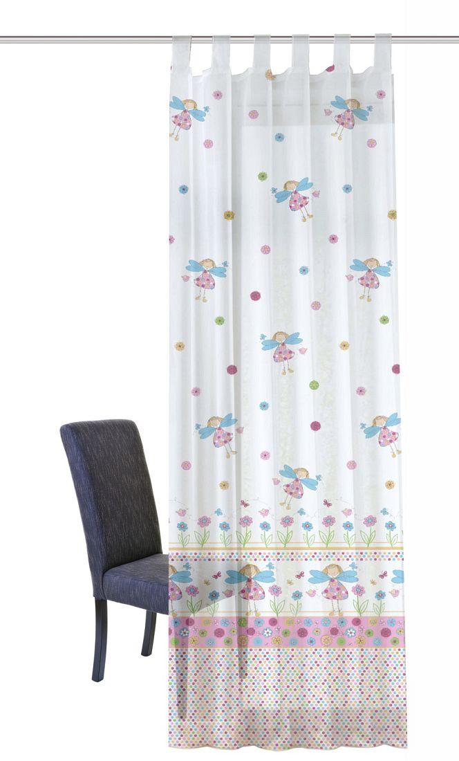 gardinen welt online shop schlaufenschal schlaufengardine kleine fee. Black Bedroom Furniture Sets. Home Design Ideas