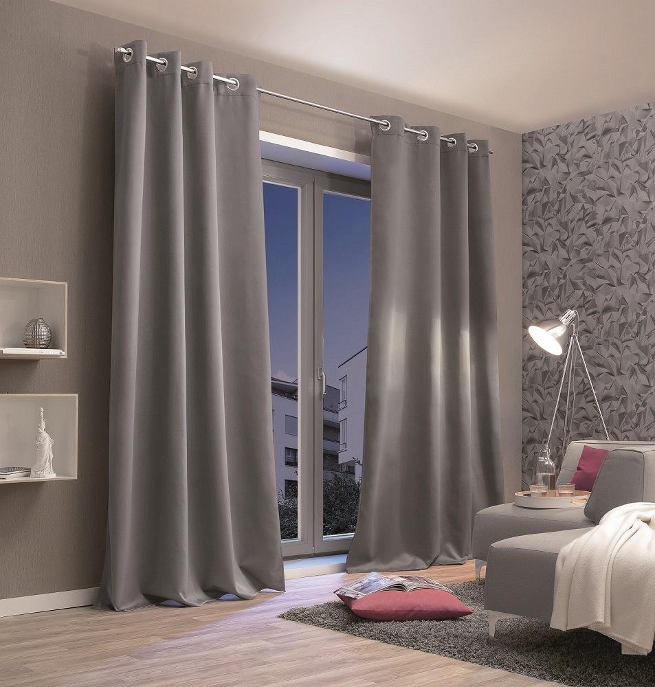 gardinen welt online shop senschal thermostoff thermoblackout verdunkelnd grau 135x245cm. Black Bedroom Furniture Sets. Home Design Ideas