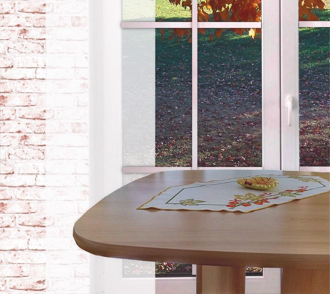 tischl ufer herbstzeit rustikale tischdecken aus plauener spitze im landhausstil gardinen. Black Bedroom Furniture Sets. Home Design Ideas