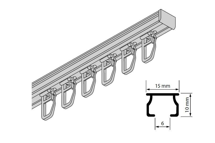 Gardinen Welt Online Shop Aluminium Gardinenschienen Und