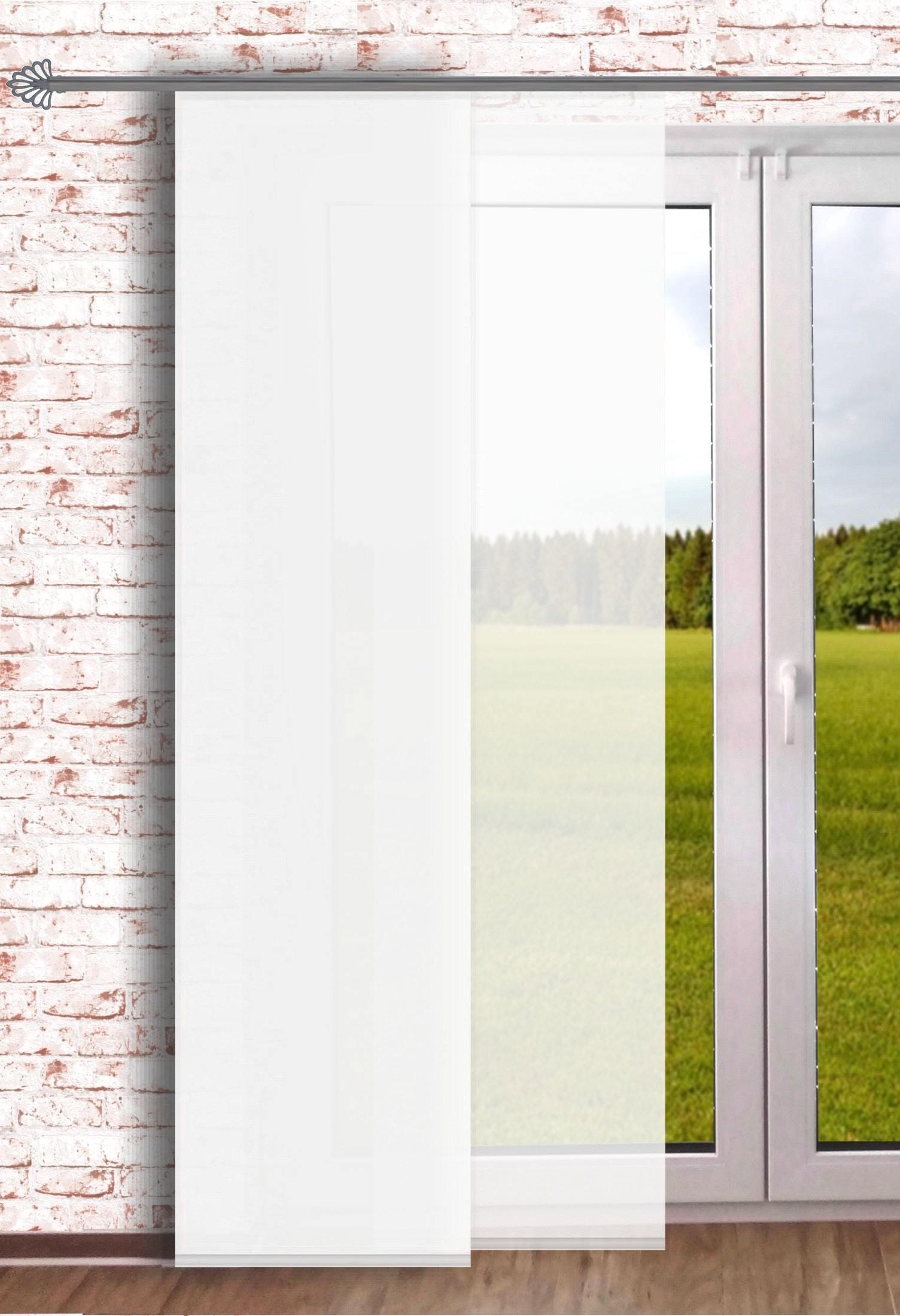 gardinen welt online shop schiebevorhang raumteiler fl chenvorhang uni wei