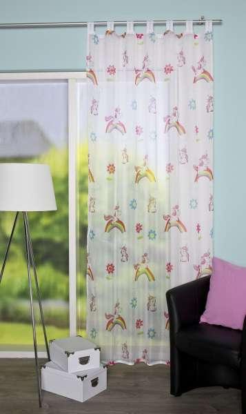 Gardinen welt online shop moderner schlaufenschal aus transparentem voile im trendthema - Schlaufenschal kinder ...