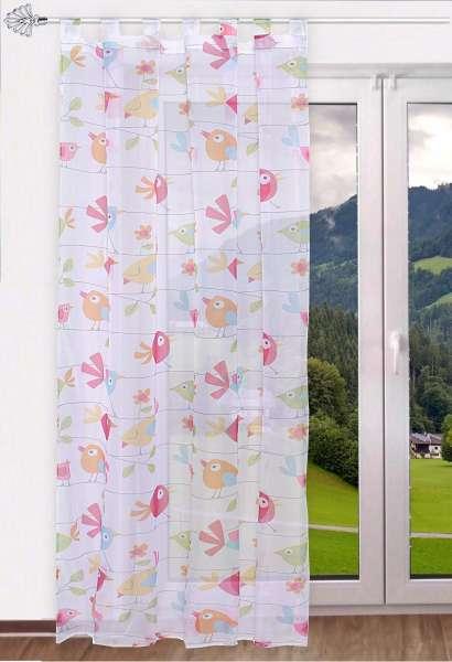 gardinen welt online shop schlaufenschal schlaufengardine. Black Bedroom Furniture Sets. Home Design Ideas